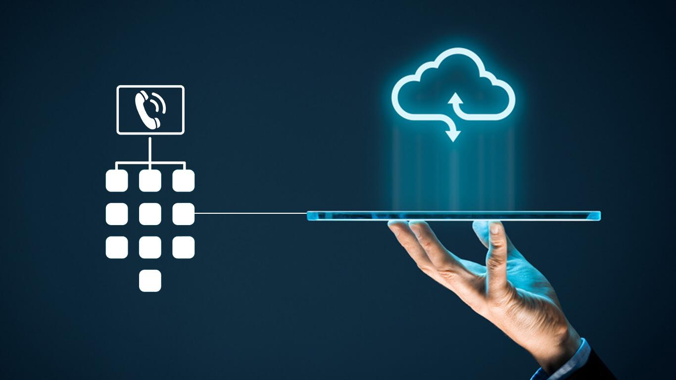 cloud-based IVR solution software